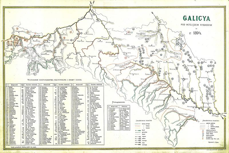 Mapa Galicya