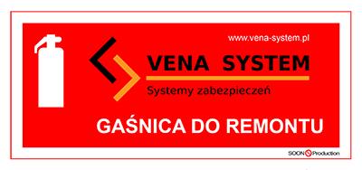 Vena-System - Gaśnica do remontu