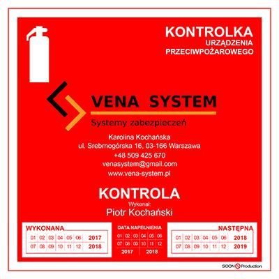 Vena-System - Gaśnica