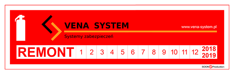 Vena-System - Gaśnica remont